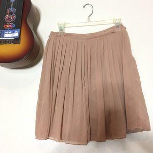 Lauren Conrad Cafe Tan Skirt